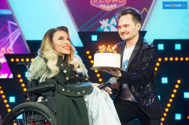 Юлия Самойлова - 29-летие на вечеринке Евровидения 2018