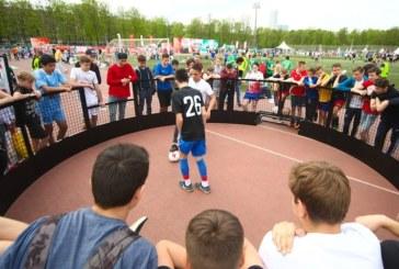 Спортивный фестиваль для людей с инвалидностью в «Лужниках»