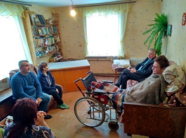 Итоговое заседание суда проходило в доме Татьяны Самсоновой