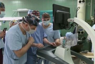 Уникальная операция на головном мозге с помощью робота