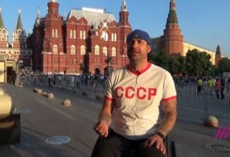 Эйбл Вера подарил коляску российскому болельщику
