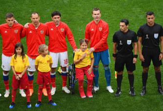 Полина Хаерединова на ЧМ по футболу