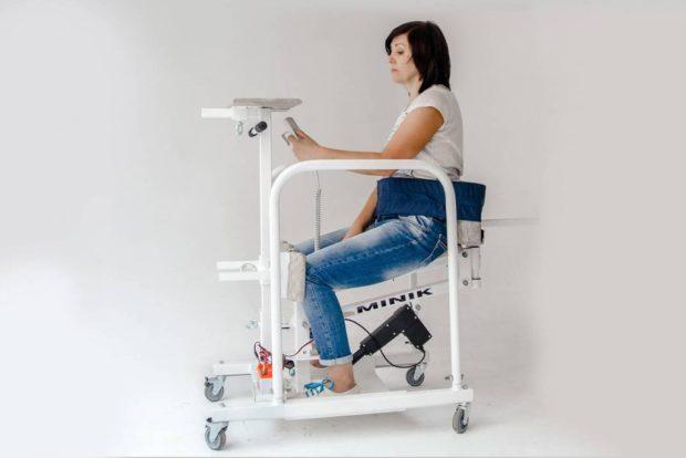 Вертикализатор с электроприводом для взрослых MINIK (модель 2)