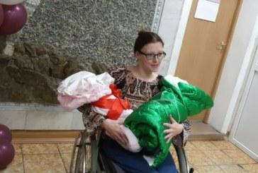 Любовь Калиниченко родила двойню