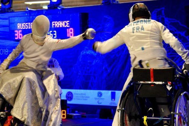 Чемпионат Европы по фехтованию на колясках