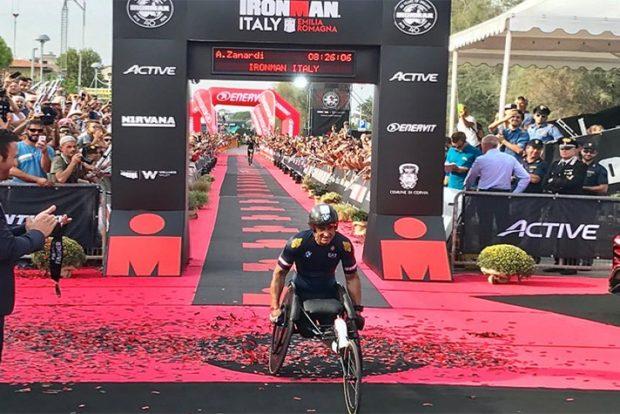 Дзанарди установил новый мировой рекорд в триатлоне