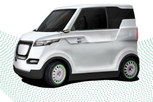 Unimobile – прототип электромобиля для людей с инвалидностью
