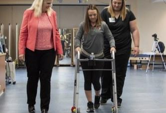 Парализованные смогут ходить благодаря стимулятору боли