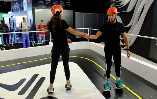 Segway представила e-Skates Drift W1