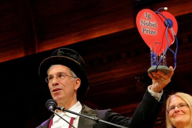 Шнобелевская премия - ночные эрекции и американские горки