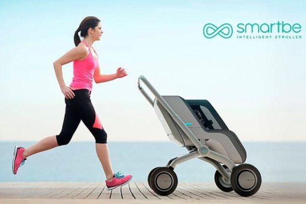 Smartbe – «умная» детская коляска с автопилотом
