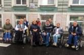 Офис Уполномоченного по правам человека в Санкт-Петербурге посетили колясочники