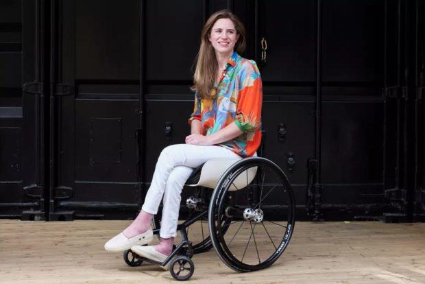 Рейчел Уоллах из Великобритании основала компаниюDisrupt Disabilityпо производству инвалидных колясок