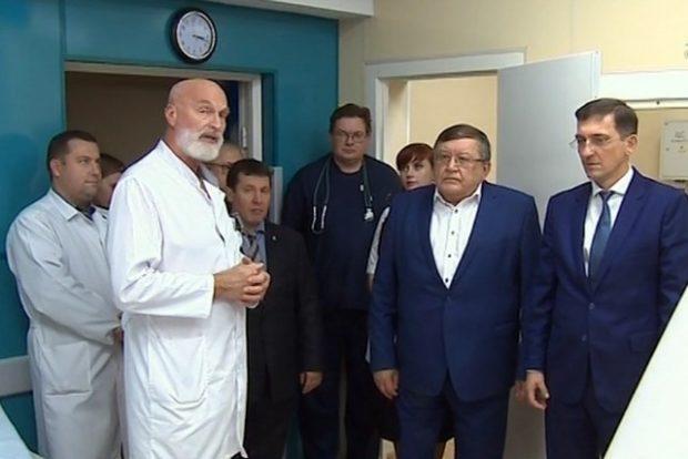 Новый компьютерный томограф появился в НИИ имени Джанелидзе