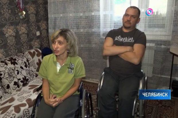 Семья инвалидов в Челябинской области несколько месяцев ждёт установки пандуса в доме