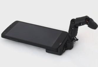 Подключаемый к смартфону робопалец