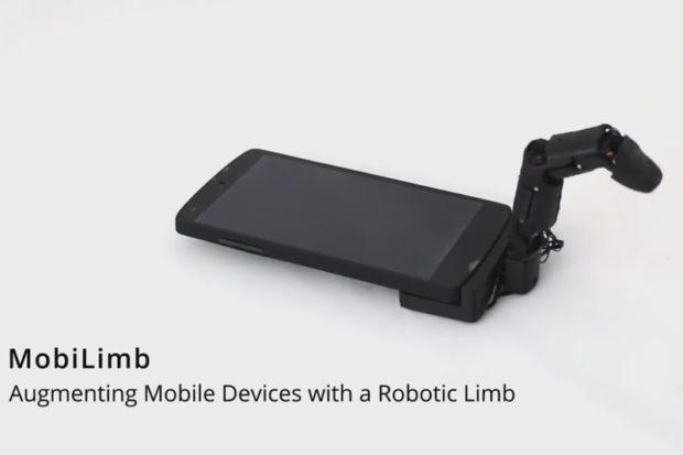 Во Франции создали подключаемый к смартфону робопалец