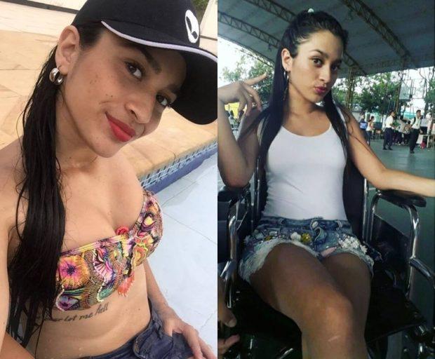 No me dejes caer jamás – татуировка привела к инвалидности - Колумбийка Луиза Фернанда Буйтраго (Luisa Fernanda Buitrago)