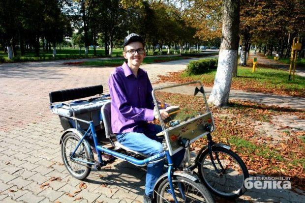 Алексей Блинов - с ДЦП и без инвалидности