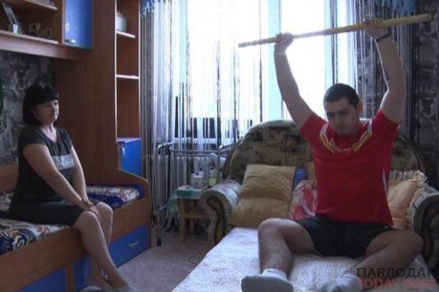 Владимир Кирьяков  -  жить и радоваться жизни на ногах