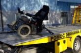 ДТП в Явожно, экскаватор сбил электроколяску