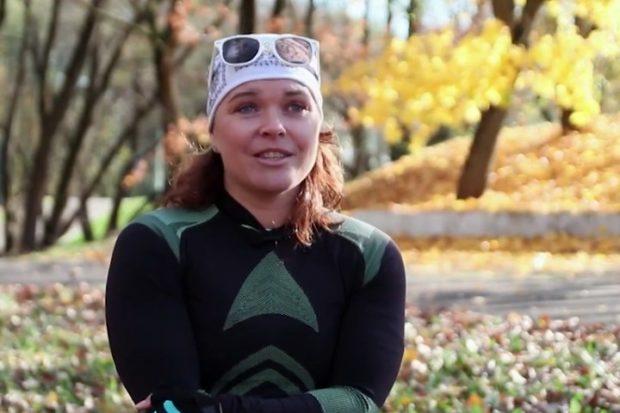 Людмила Волчек - трехкратная паралимпийская чемпионка