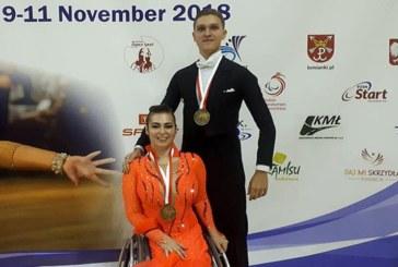 3 «золота» с ЧЕ по спортивным танцам на инвалидных колясках