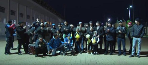 Мальчик с инвалидностью посетил тренировку «Анжи»