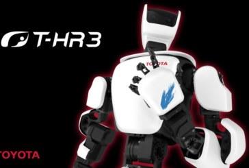Toyota создала робота с управлением по 5G