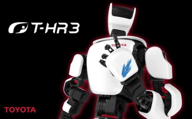 Toyota создала человекоподобного робота с управлением по 5G