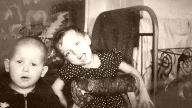 Тамара сосвоим двоюродным братом Сергеем вНовокузнецке. Фото: bbc.com