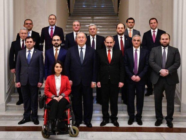 Министр труда и социальной защиты Армении Заруи Батоян