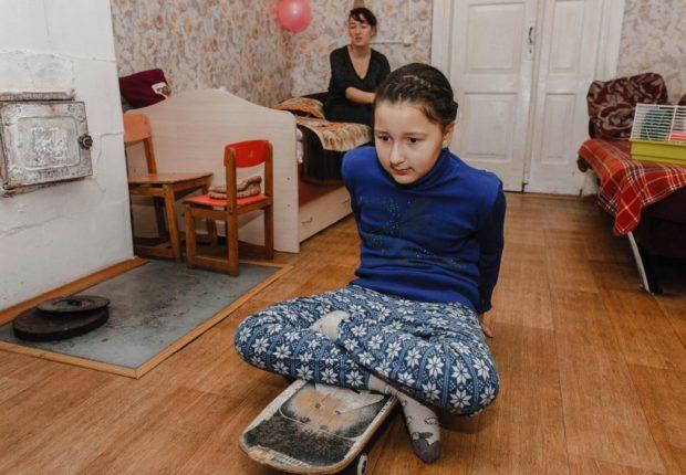 Катюша живет в частном доме, где выросла ее мама и бабушка