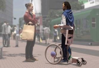 Изобретение инвалидной коляски 21-го века