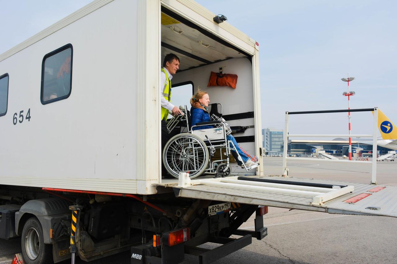Внуково - обслуживание маломобильных пассажиров