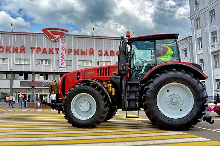 Трактор МТЗ для людей с инвалидностью