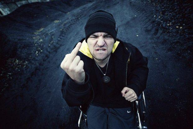 Рем Дигга - ростовский рэпер-колясочник