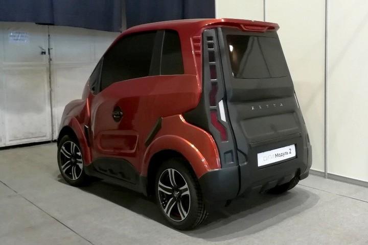 В Тольятти покажут уникальный электромобиль Zetta