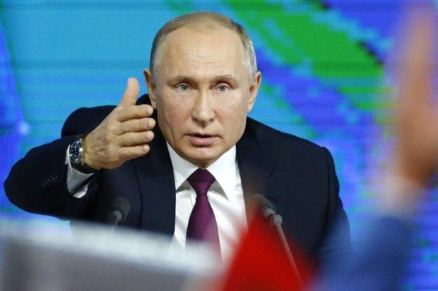 Владимир Путин - помощь в активном формате