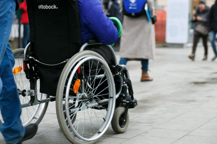 Вологжане в заезде на колясках