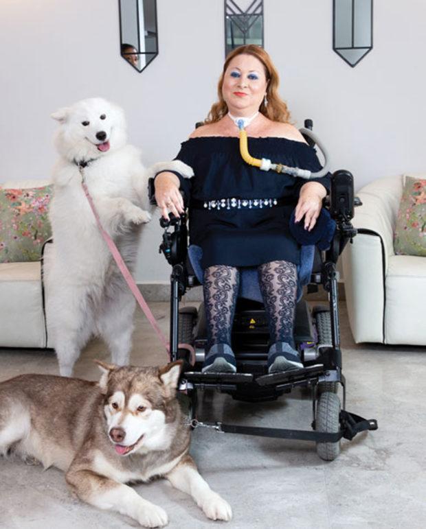 Кулинар Шошана Барух и ее собаки