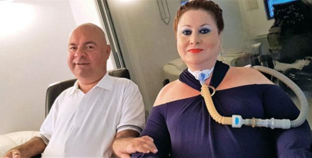 Шошана Барух и муж Юваль