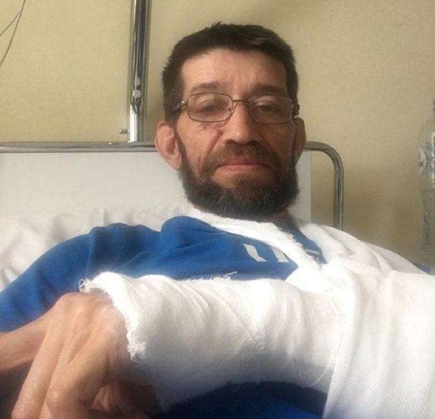 Жестоко избил инвалида-чернобыльца
