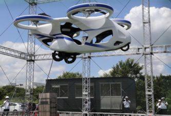 Японцы испытали летающий автомобиль