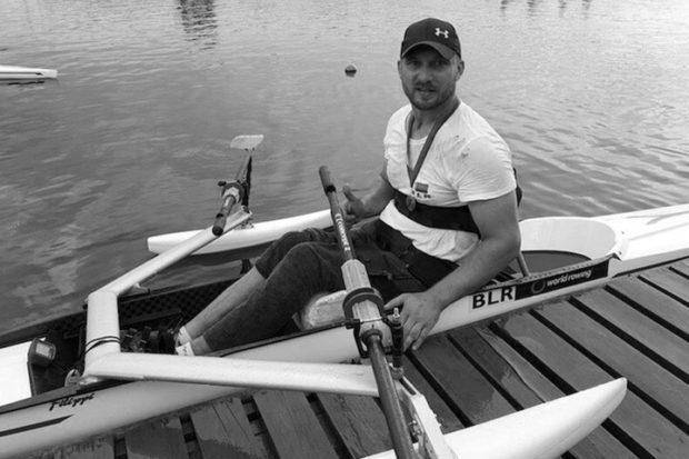Белорусский гребец-паралимпиец Дмитрий Рышкевич