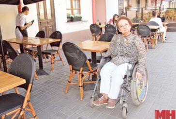 Доступность летних кафе в центре Минска