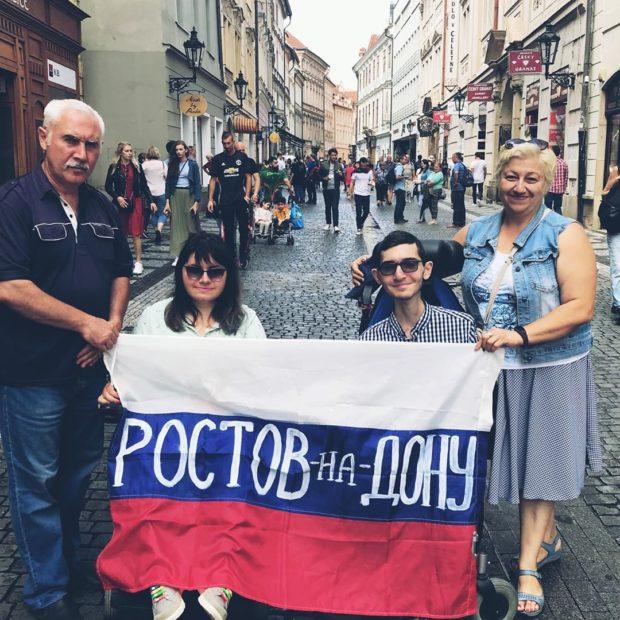 Федор Тахтамышев - самый позитивный колясочник Ростова