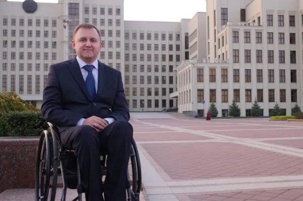 Евгений Шевко - В парламент Беларуси идет инвалид-колясочник
