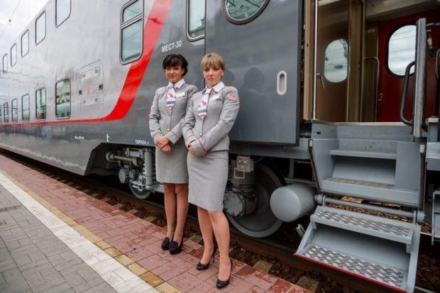 Фирменный поезд Петрозаводск – Москва