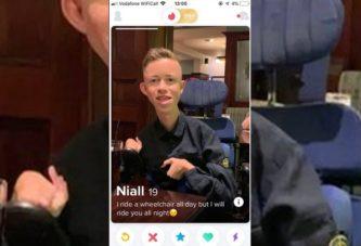 Колясочника забанили в Tinder за сексуальный контент